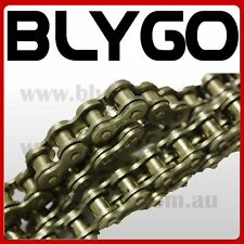 HD KMC GOLD 420 106 Links Drive Chain + Joiner Links PIT PRO Quad Dirt Bike ATV