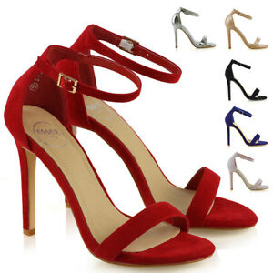 Womens-Stiletto-High-Heel-Ankle-Strap-Sandals-Ladies-Peep-Toe-Party-Prom-Shoes