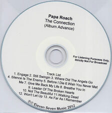 PAPA ROACH The Connection 2012 US 13-trk promo test CD