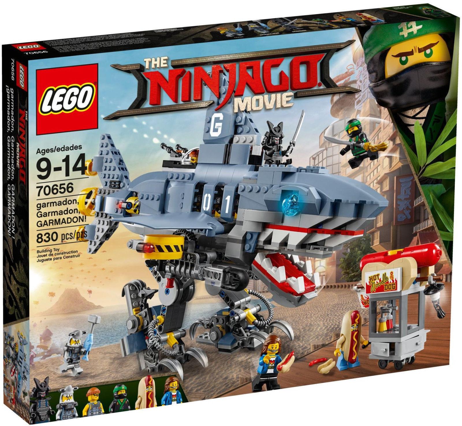 LEGO NINJAGO MOVIE GARMADON GARMADON GARMADON - LEGO 70656