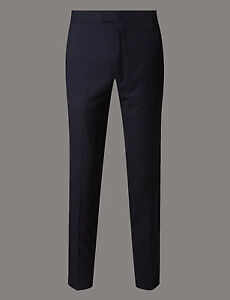 Slim Textured Trousers amp;s Autograph Fit M Chinos 0pEwSBxwq