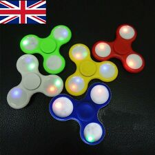 JOBLOT WHOLESALE Fidget LED Spinner Hand Finger Bar Pocket Desk Focus LOT OF 10