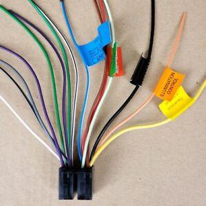 Details about Jvc Wire Harness For KD-AV31, KD-AV300, KD-AV41, KD-41BT, on