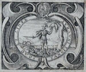 Marque De Tendance Paris Marque Typographique Printer's Mark Jean Camusat 1638 A La Toison D'or