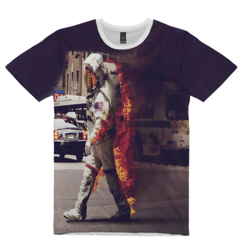 NEW MENS NASA SUB TEE BACK TO EARTH BY OVN T-SHIRT US//UK REG FIT/&SIZE