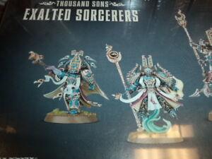 Warhamer 40k Thousand Sons Exalted Sorcerers NIB