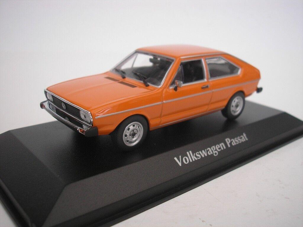 Compra calidad 100% autentica VW Volkswagen Passat 1975 Naranja 1 43 43 43 Maxichamps 940054201 Nuevo  ahorra hasta un 70%