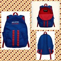 Hollister Backpack Blue With Tags