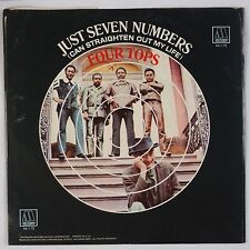 THE FOUR TOPS: Just Seven Numbers USA MOTOWN Funk Soul 45 w/ PS NM- Disc