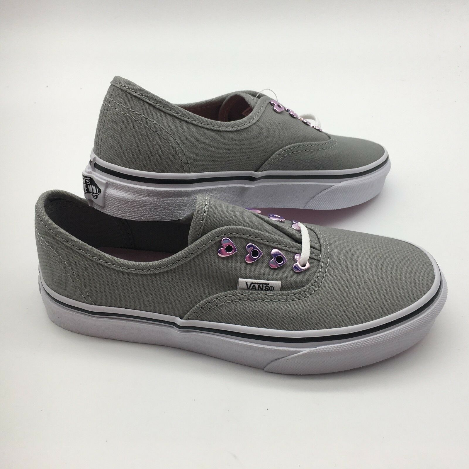 Vans Kid's shoes's Authentic ( Eyelets) Hearts Grey