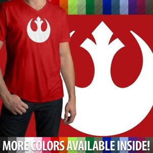 Star-Wars-Rebel-Alliance-Rebellion-Jedi-Republic-Mens-Women-Unisex-Tee-T-Shirt