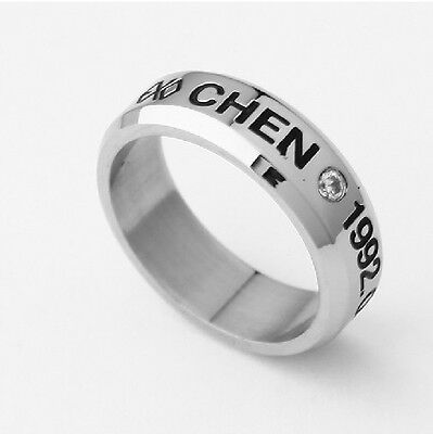 EXO-M CHEN EXO FROM PLANET STAINLESS STEEL RING NEW FREE SHIPPING