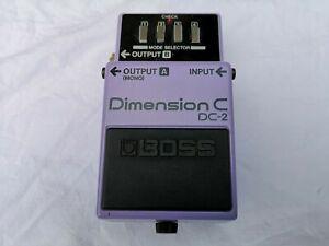 Boss Dc-2 Dimension C Chorus-livraison Gratuite Au Royaume-uni-afficher Le Titre D'origine