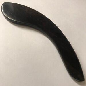 Gabon-Ebony-Guitar-Armrest-Natural-Finish-Luthier-Parts-For-Stringed-Instruments