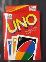 Fun Uno Card Game 108 Playing Cards playing Family Children Friends