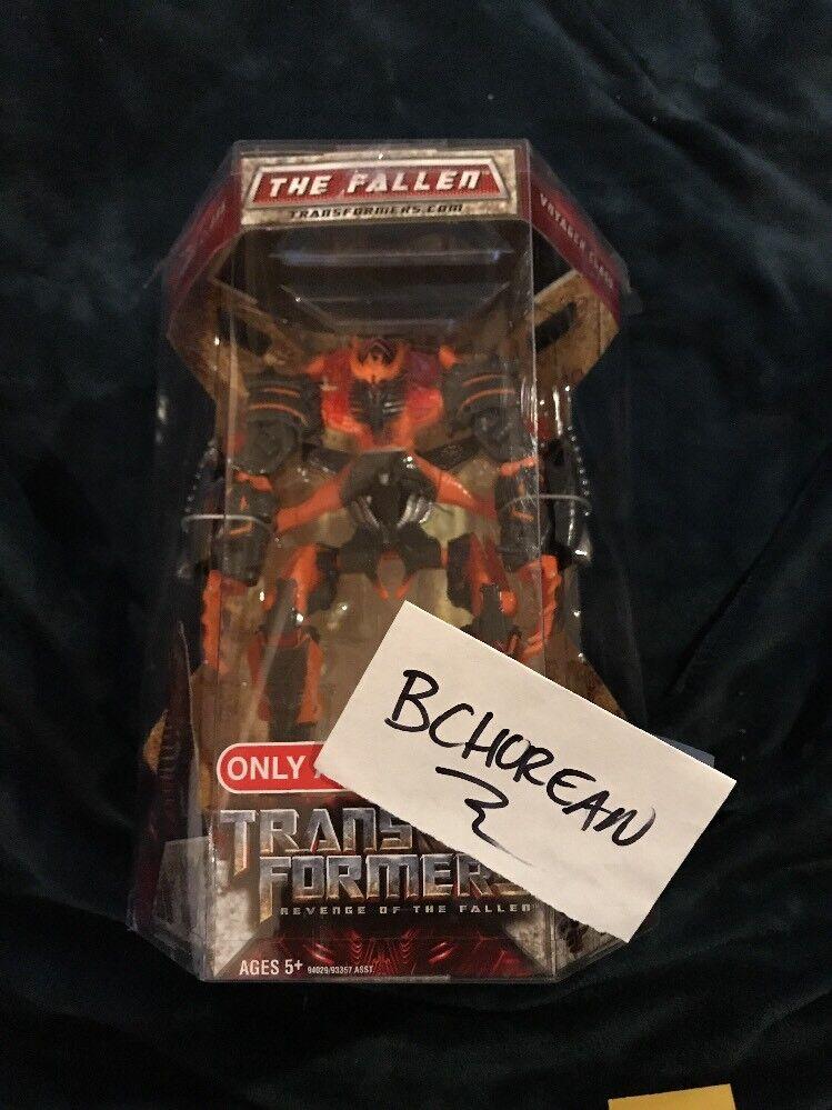Transformers Movie Revenge of the Fallen redF Target Exclusive Burning Fallen