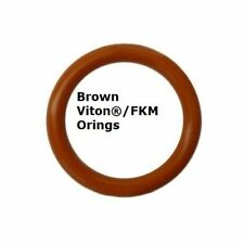 Viton Heat Resistant Brown O-rings  Size 003 Price for 50 pcs
