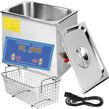 New 45l Ultrasonic Cleaner Stainless Steel Industry Heated Heater Withtimer