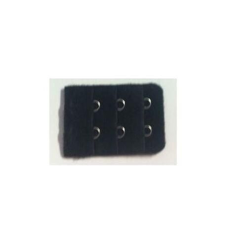 BLACK Bra Extenders *CHOOSE a CLIP ON bra extender with 1 2 3 4 or 5 hooks !