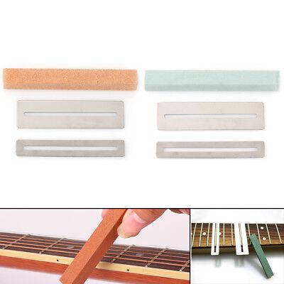 guitar fret wire polishing beam sanding stone protector diy luthier tool kit jku ebay. Black Bedroom Furniture Sets. Home Design Ideas