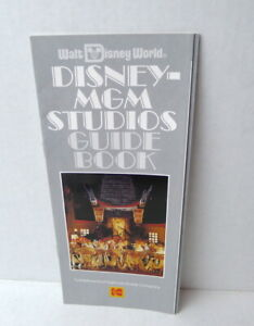 Walt-Disney-World-MGM-Studios-Guide-Book-Map-1989-Brochure