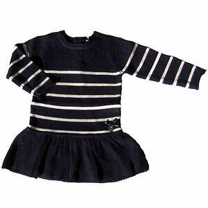 Willensstark Week-end à La Mer Kleid Strickkleid Knitwear Pailletten Blau 62 68 74 80 86 92 Kleider Kleidung, Schuhe & Accessoires