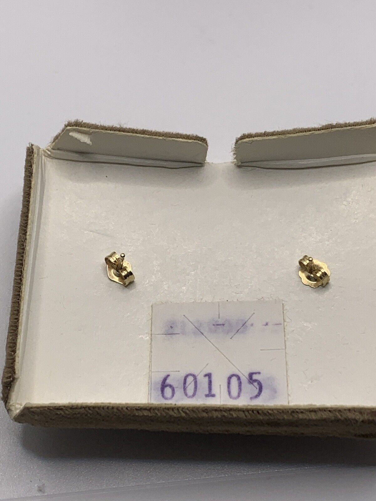 vintage 14k gold pearl and gold earrings - image 4