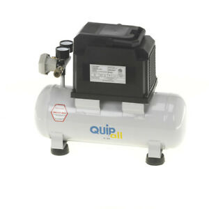 Quipall-2-33-Oil-Free-Compressor-1-3-HP-2-gallon-Steel-Tank-New