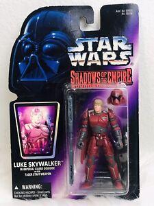 NEW-SEALED-1996-STAR-WARS-Shadows-of-the-Empire-Luke-Skywalker-Kenner-FIGURE