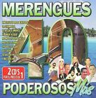 40 Merengues Poderosos by Various Artists (CD, Oct-2009, 2 Discs, Sony Music Distribution (USA))
