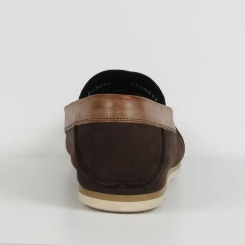 New señores mocasines cuero mocasín 40 41 42 zapatos