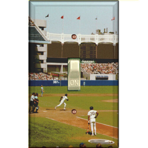 Single Decorated Light Switch Cover Yankee Stadium DS-12