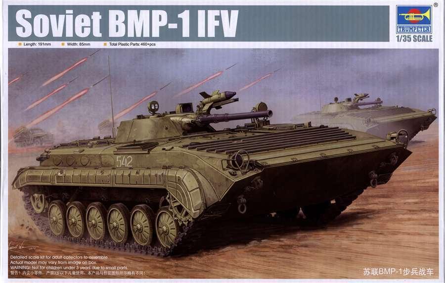 Trumpeter Model kit 1 35 Soviet BMP-1 (IFV)