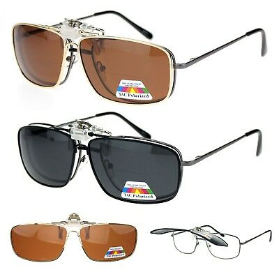 Anti Glare Polarized Mens Classic Metal Rim Narrow Rectangular Sunglasses New