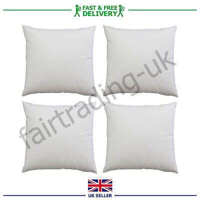 Cushion Inners Inserts Pads Scatters Fillers Hollowfibre /& Duck Feather in Packs