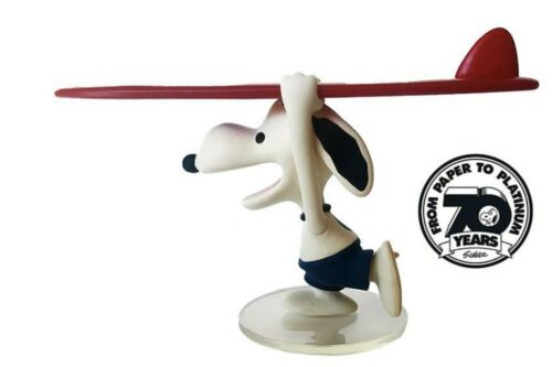 70th Anniversary Medicom Peanuts Surfer Snoopy Vinyl Figure