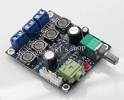 TPA3118 Digital Mini Audio Power Amplifier Board Dual Track 25W+25W PBTL 50W