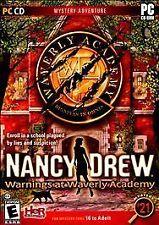 Nancy Drew: Warnings at Waverly Academy (PC, 2009)