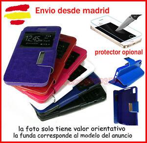 Funda-Libro-con-Ventana-SONY-XPERIA-Z1-MINI-D5503-Flip-Cover-Protector-opcional