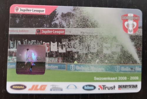 Sammler unused Seizoen Club Card FC Dordrecht 2008-2009