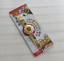 Kids Digital Projector Watch with 20 Minions Projected Images Cartoon gift watch