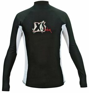 XS-Scuba-Scuba-Rash-Vest-Long-amp-Short-sleeve-avail