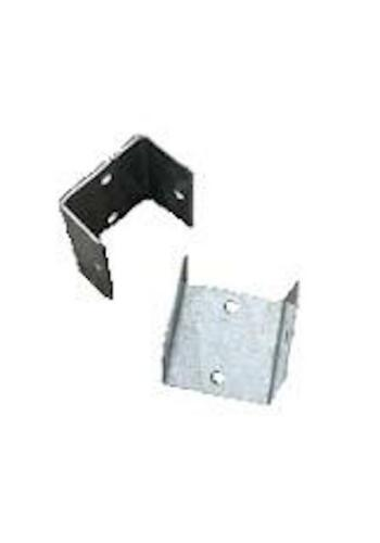 Packs of 6 BZP Easy Post U Brackets Available in 2 sizes