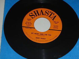JIMMY-WAKELY-My-Heart-Cries-For-You-Beautiful-Brown-Eyes-SHASTA-45-128-RARE