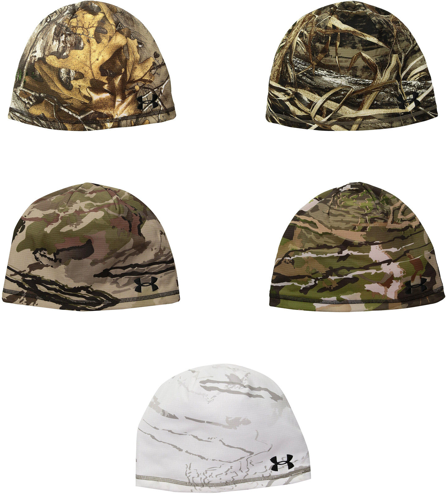 21c2b11acd9 Details about Under Armour Mens Rev Fleece beanie 2.0, 5 Colors