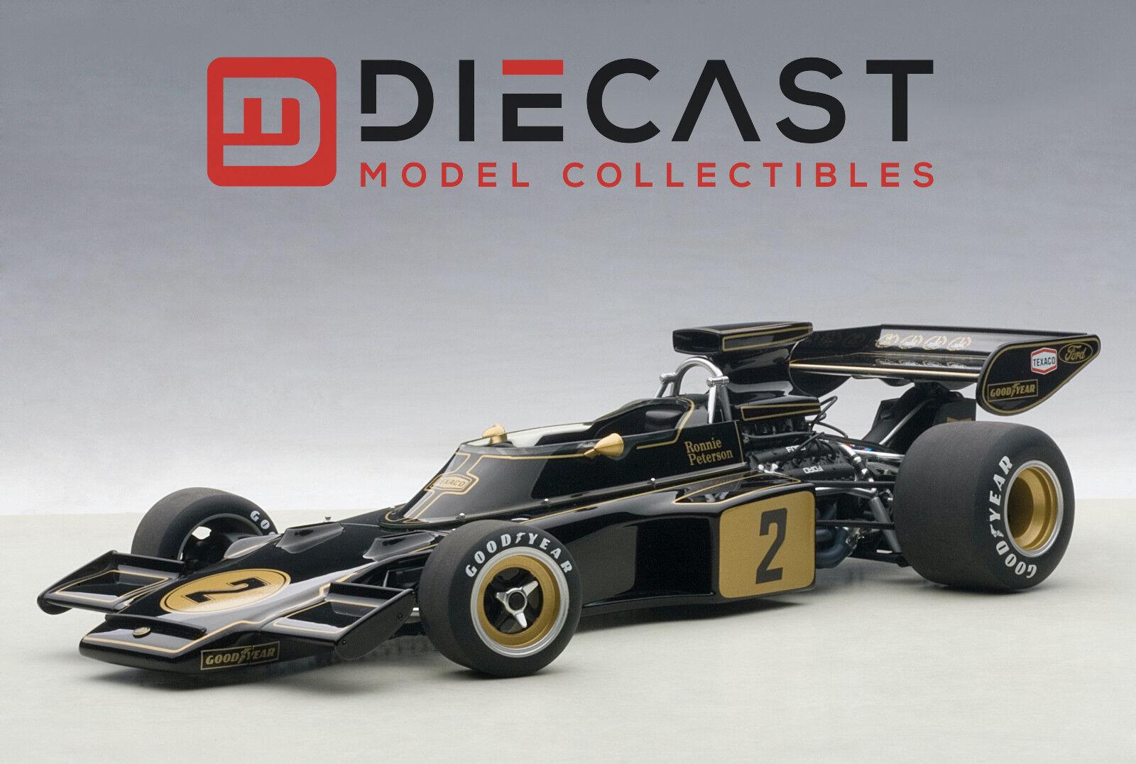 AUTOart 87329 Lotus 72E 1973 Ronnie Peterson  2, 1 18TH Scale