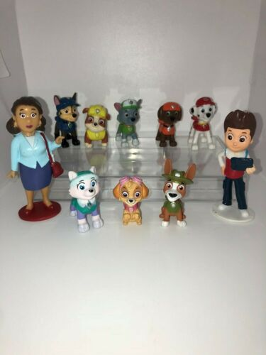 PAW PATROL GIRLS #2 BUSY BOOK-Histoire 10 Figures Neuf UK Stock