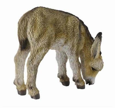 Breyer CollectA 88408 Donkey foal grazing superior well made /</>/<