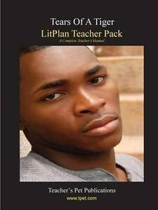 Litplan Teacher Pack: Tears of a Tiger, Brand New, Free P&P in the UK