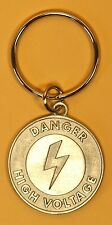 Electrician lineman gifts keychain high voltage award electrical trinket gift
